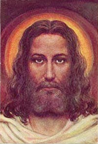 Face of Christ Painting based on Holy Shroud
