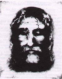 Another Face of Christ based on Holy Shroud